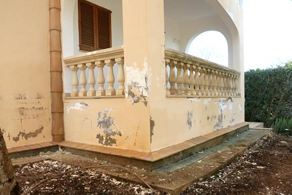 Sanitation of Apartments  Exterior facades